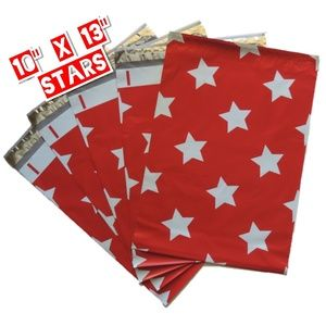 50 Stars Poly Mailers 10x13